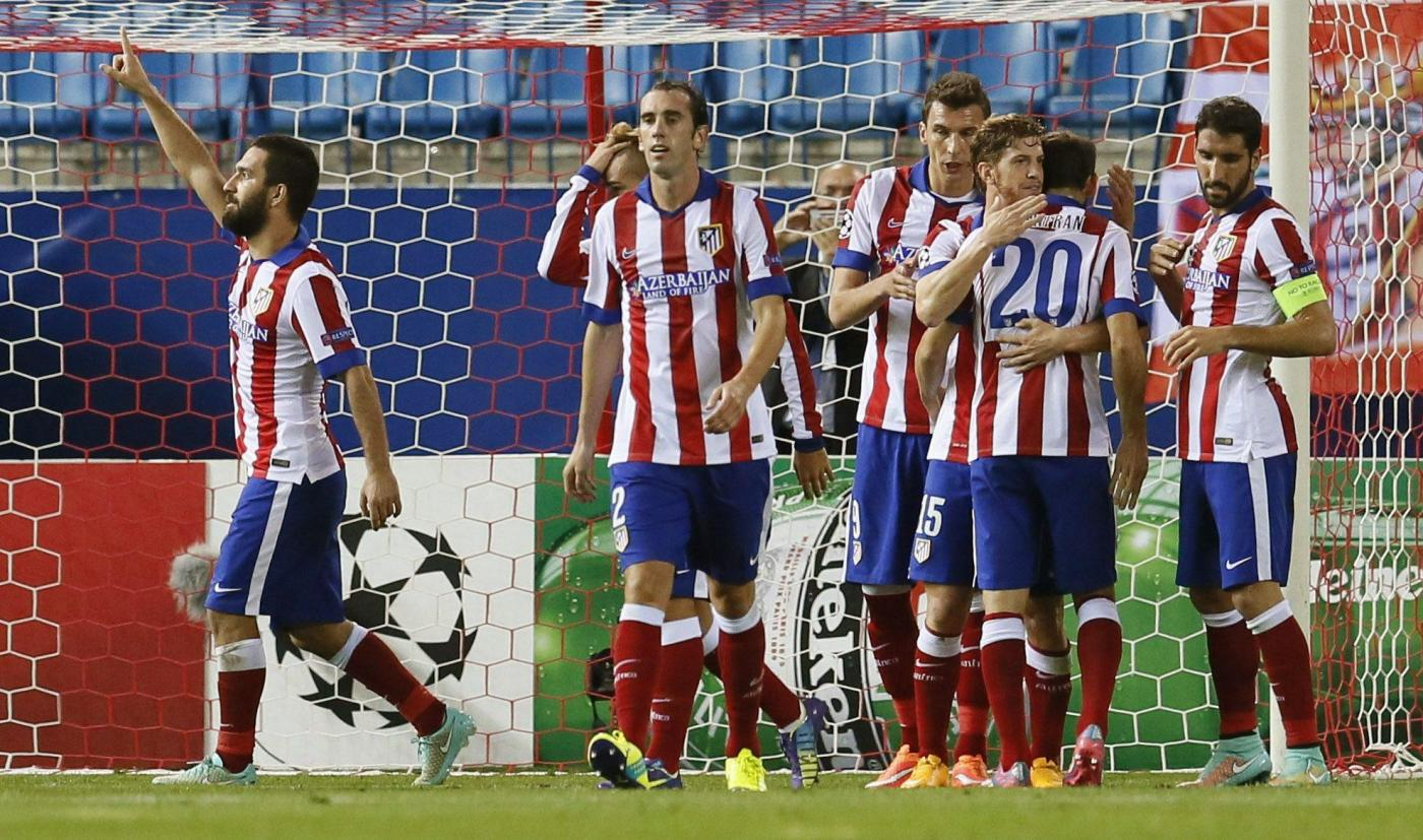 Atletico Madrid vs Juventus 1-0, decide Arda Turan