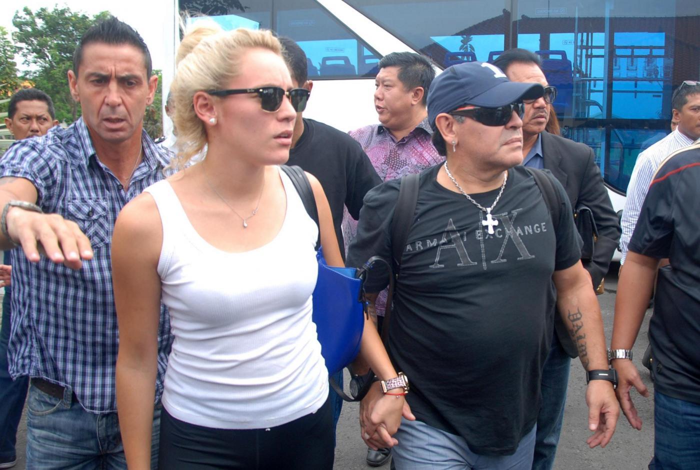 Maradona e Rocio 150x150