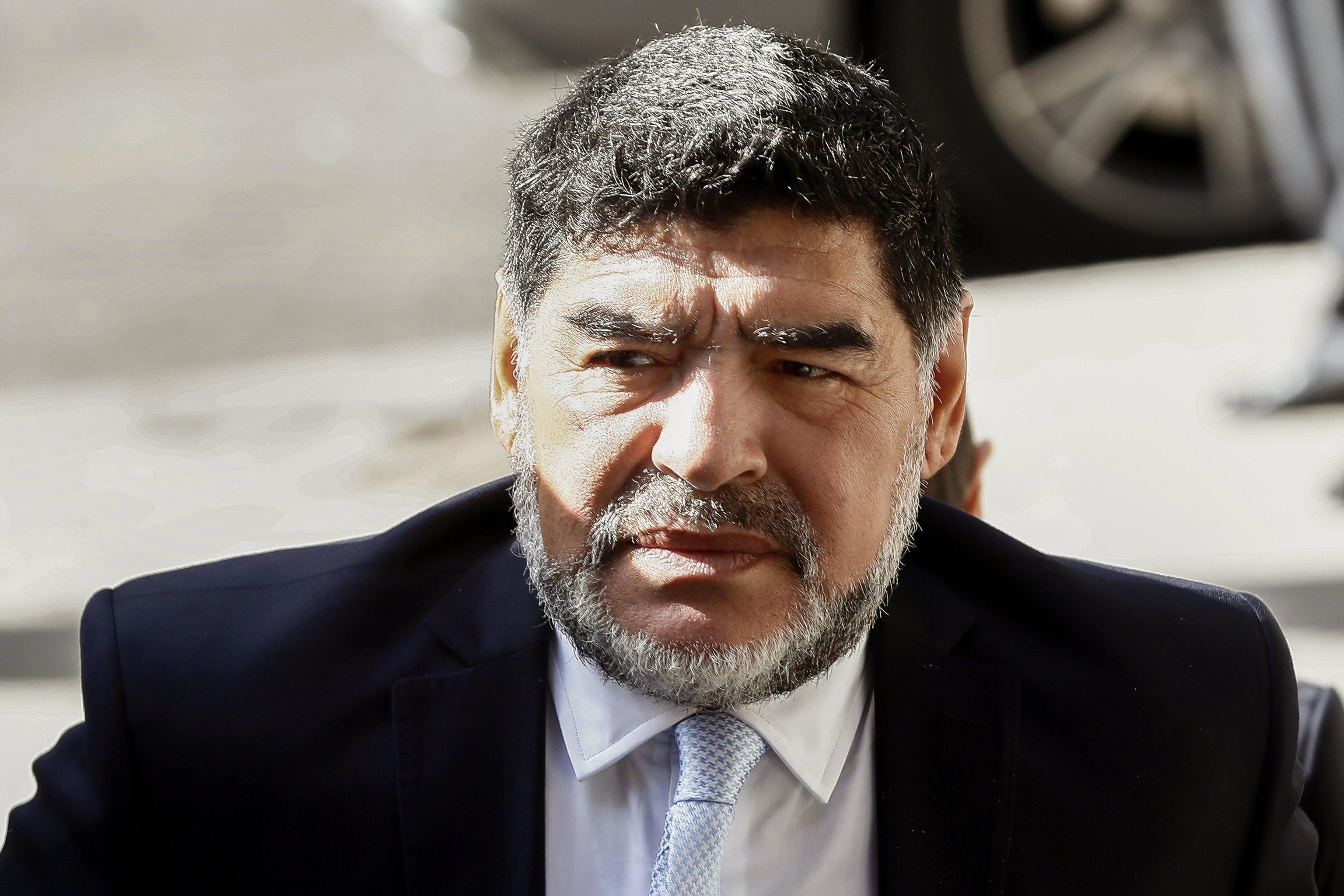 Maradona questioned by police over alleged row with his girlfriend in Madrid