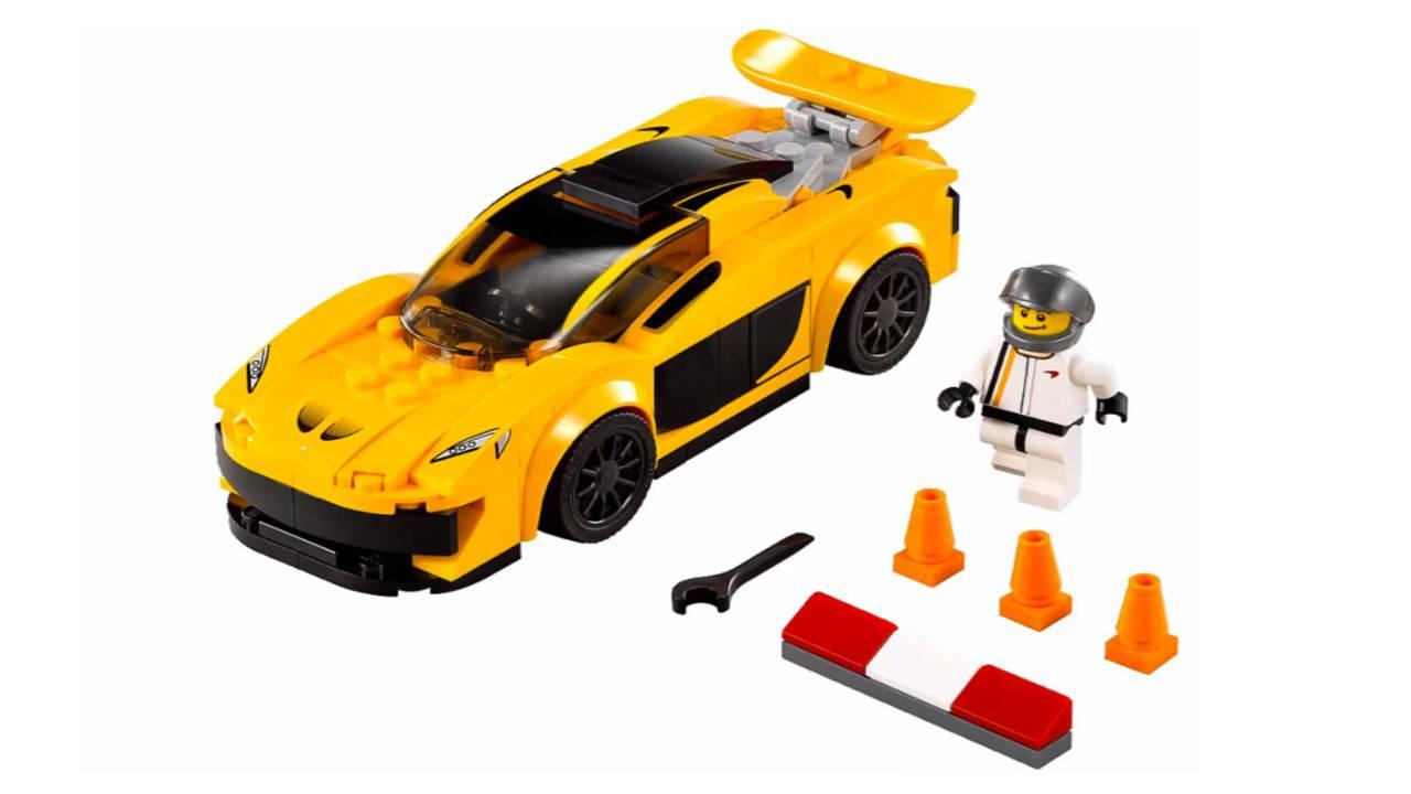 Ferrari, McLaren e Porsche: adesso anche in LEGO
