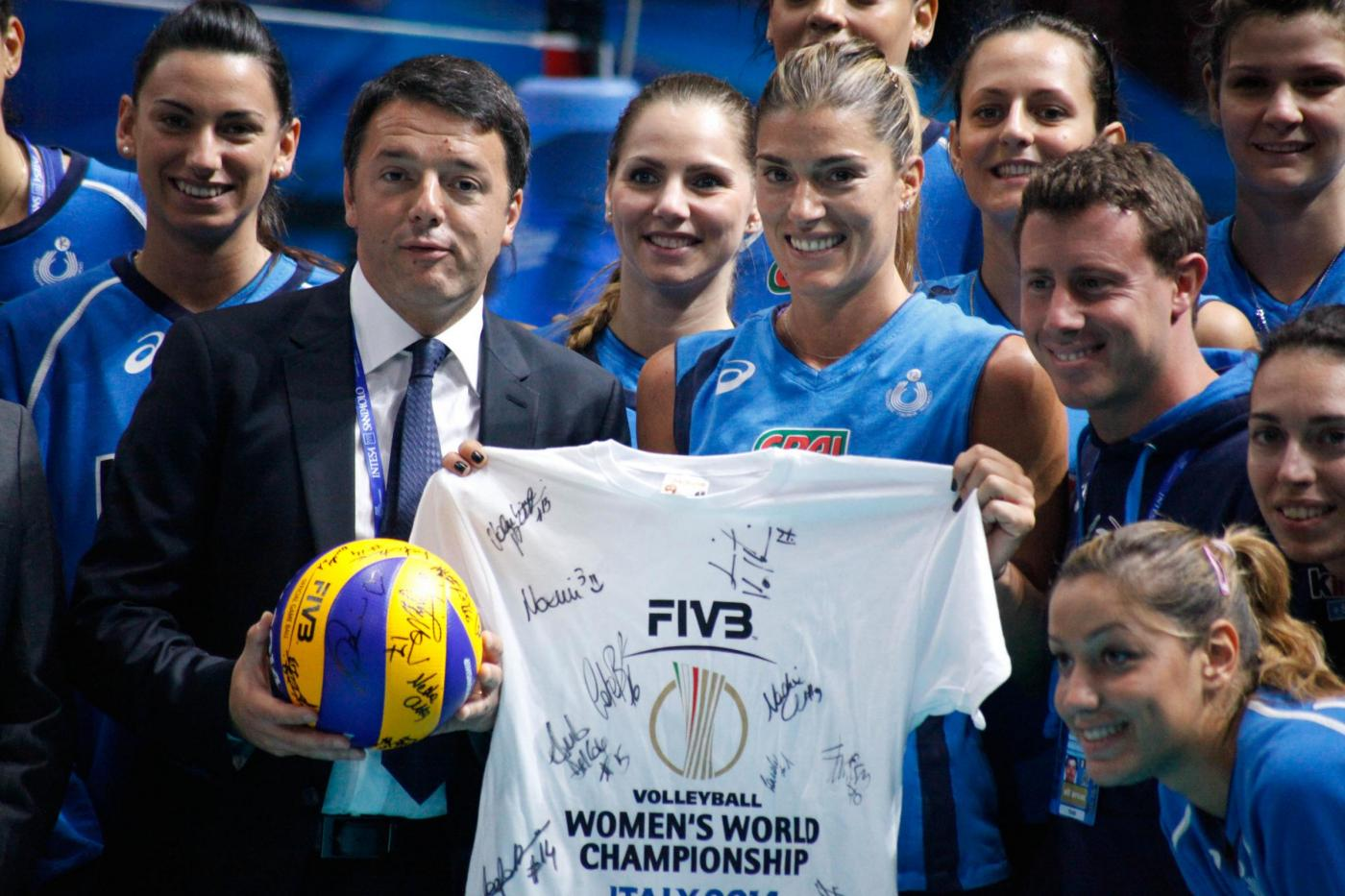 Mondiali Pallavolo: Italia vs USA 3-0