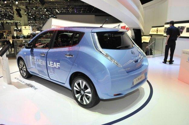 Nissan Leaf retro