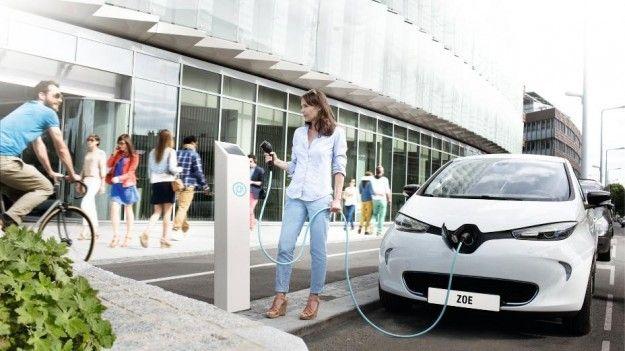 Renault Zoe in carica