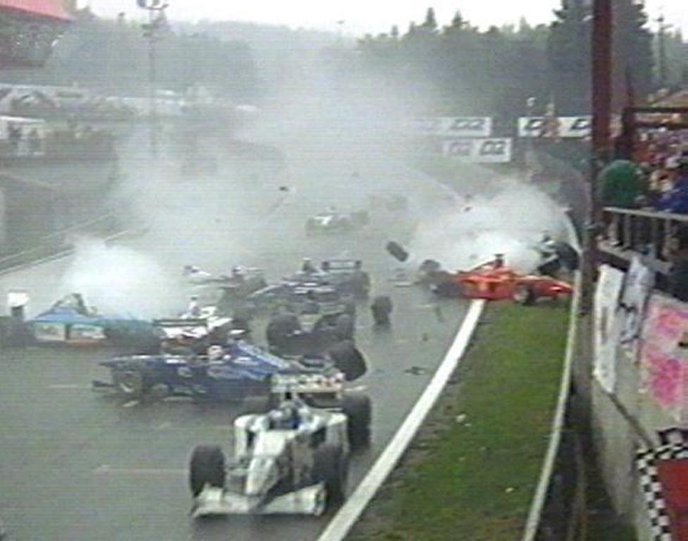 Gli incidenti più brutti della Formula 1
