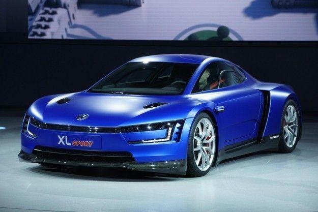 Volkswagen XL Sport concept anteriore