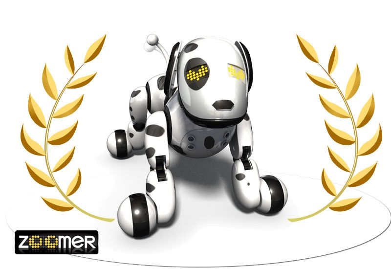 Zoomer, il cane robot interattivo