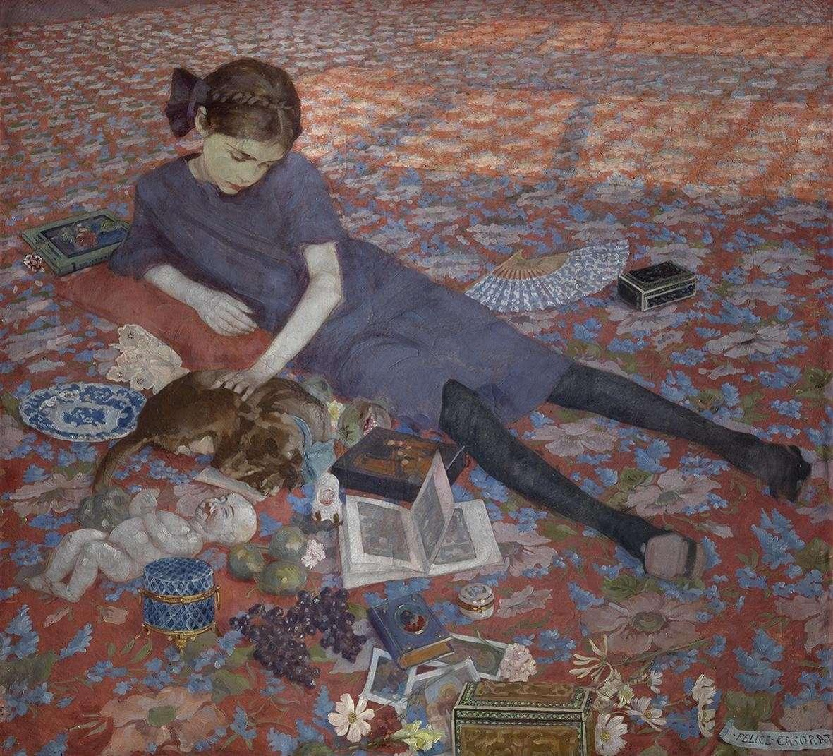 Mostra di Felice Casorati, ad Alba dal 25 ottobre 2014 all'1 febbraio 2015