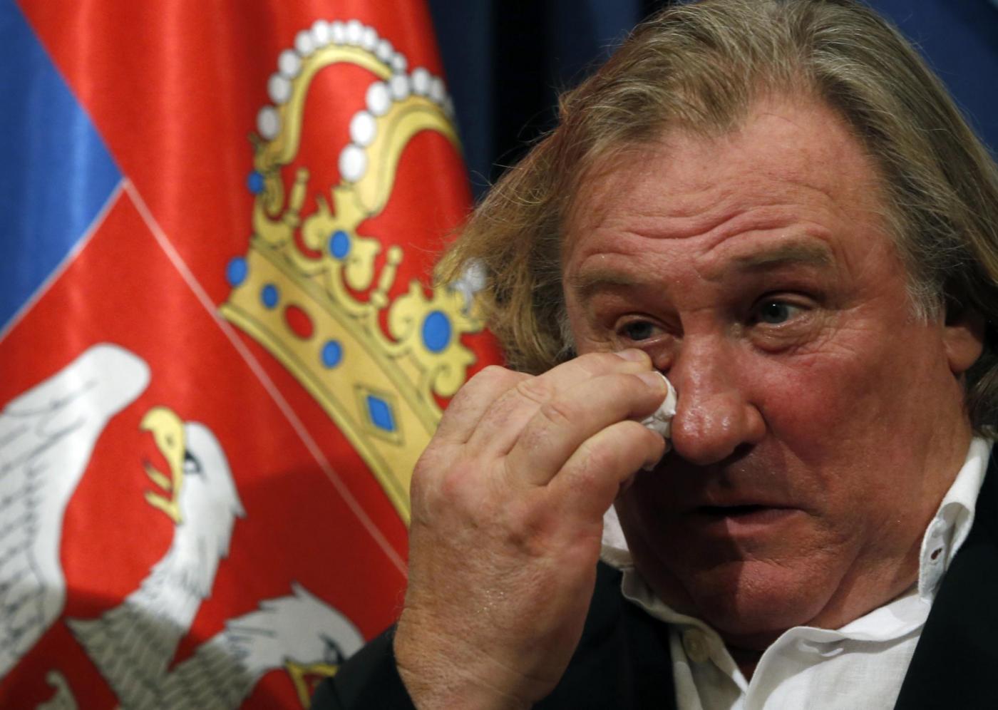 Gerard Depardieu, confessioni choc: 'Da giovane mi sono prostituito'