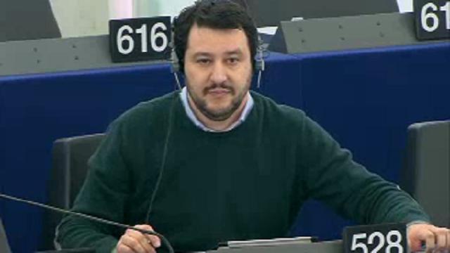 Matteo Salvini al Parlamento Europeo: chi l'ha visto?