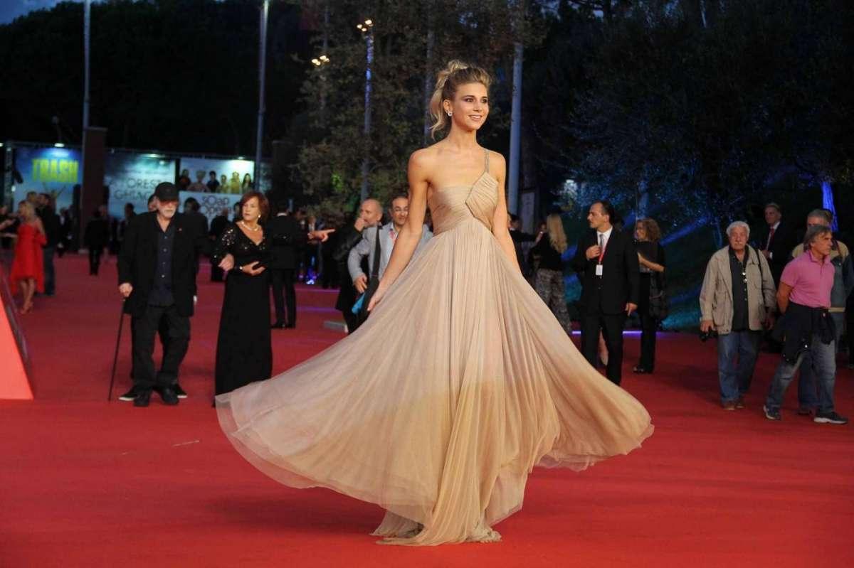 Nicoletta Romanoff madrina del Festival Internazionale del Film di Roma 2014