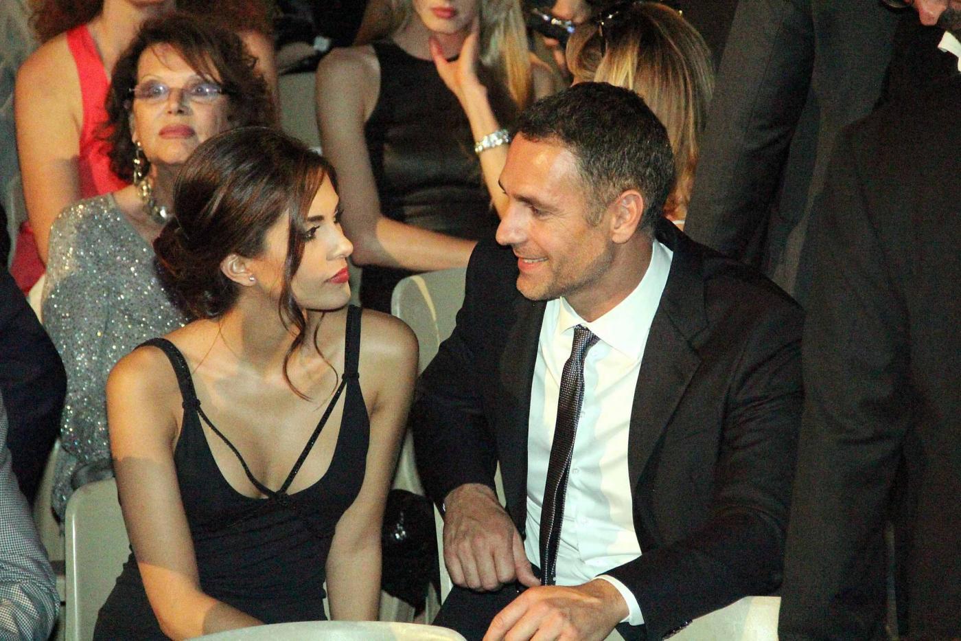 Raoul Bova e Rocío Muñoz Morales in crisi? La coppia si vede solo nel weekend