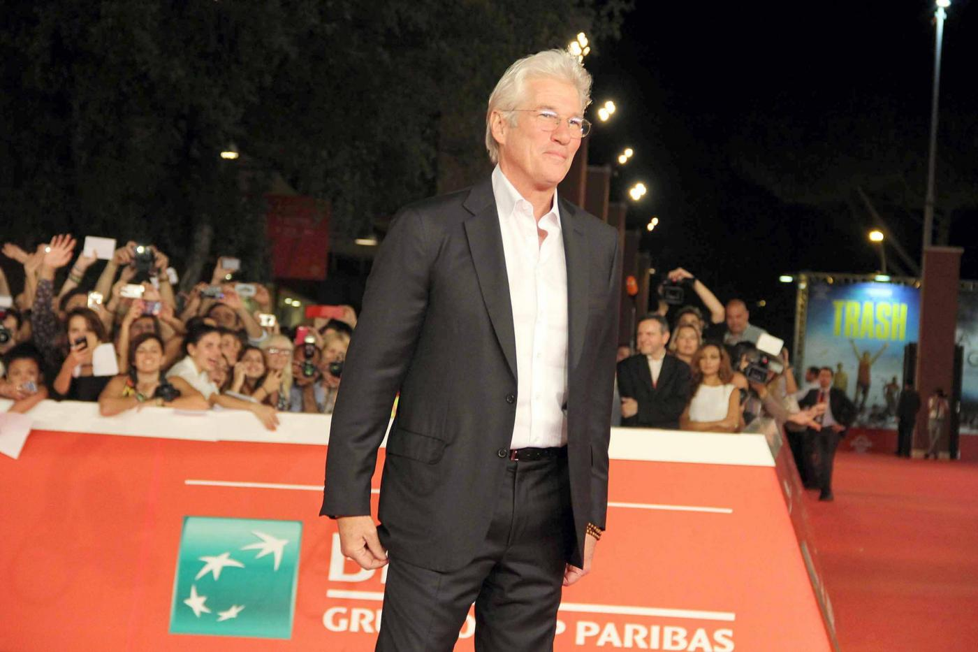 Richard Gere al Festival di Roma 2014 per Time Out of Mind