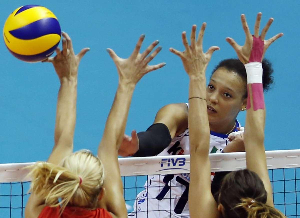 Valentina Diouf strega l'Italia ai Mondiali Femminili di Pallavolo 2014