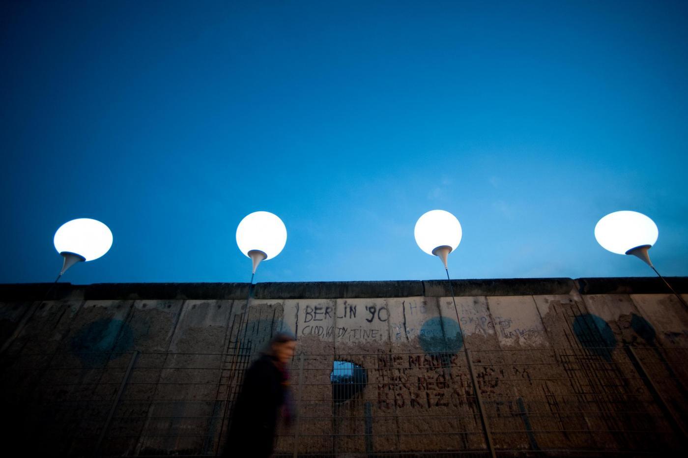 Muro di Berlino oggi, festeggiamenti a 25 anni dalla caduta