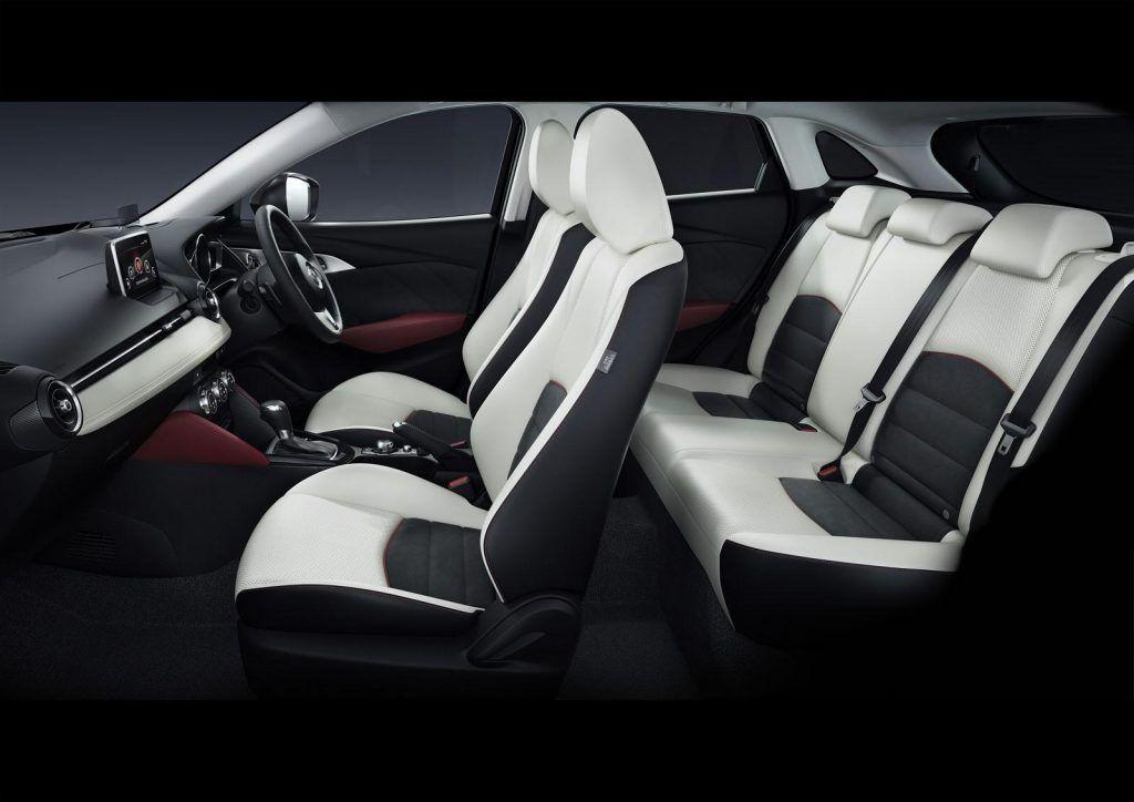 Abitacolo della Mazda CX 3 1024x724