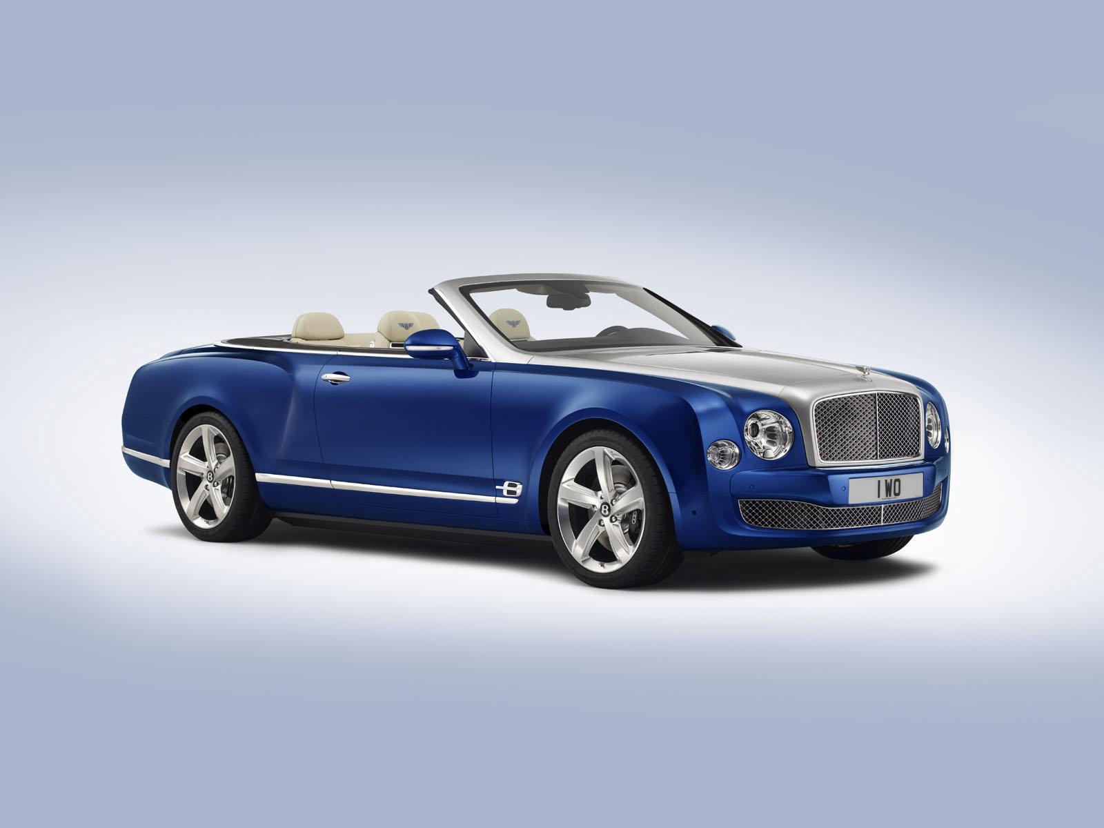 Bentley Grand Convertible concept: anticipazione del futuro cabrio