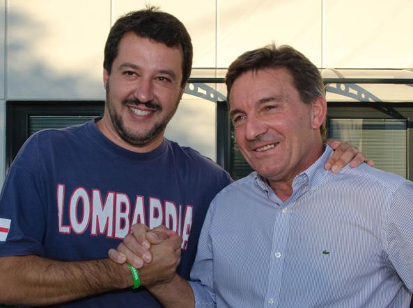 Antonio Monella e Matteo Salvini 150x150