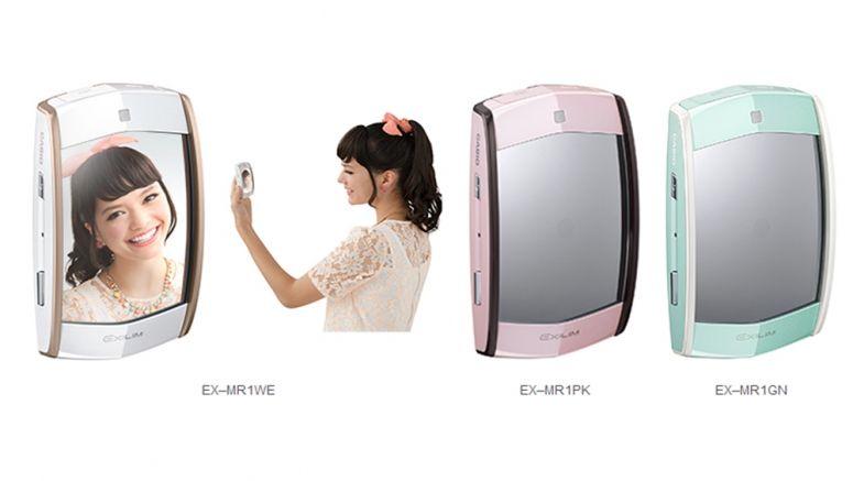 La fotocamera Casio con specchio ideale per selfie