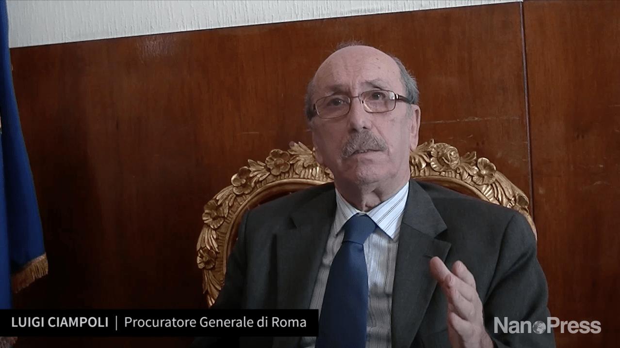 Luigi Ciampoli, Procuratore Generale di Roma, dice addio alla Magistratura – INTERVISTA