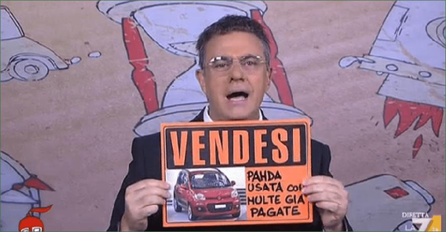 Maurizio Crozza a diMartedì, la copertina a La 7: debutta l'imitazione d'Ignazio Marino