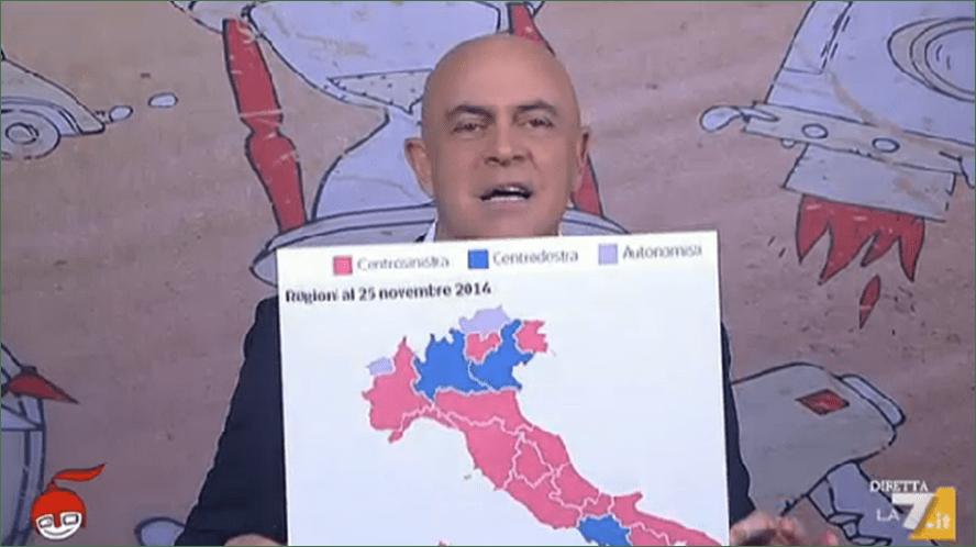 DiMartedì, Maurizio Crozza con la copertina a La 7: 'Un popolo impazzito: comunista per astension'