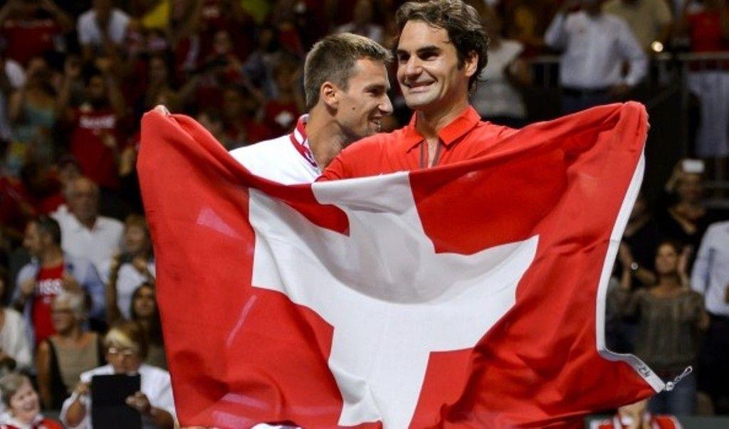 Coppa Davis: Federer porta in trionfo la Svizzera
