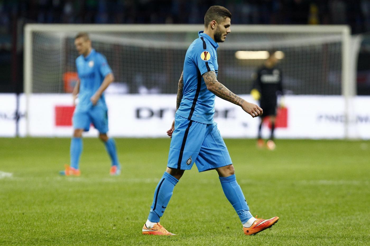Europa League: Inter pareggia 1-1 e rimane in testa nel girone