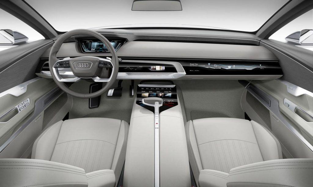 Interni della Audi Prologue concept 1024x614