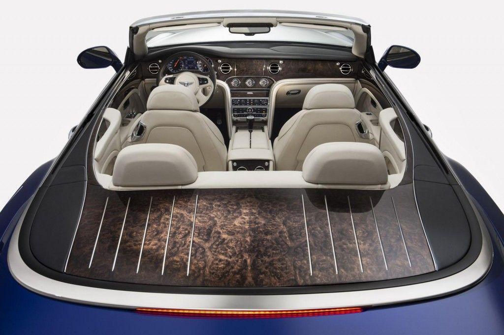 Interni della Bentley Grand Convertible concept 1024x682