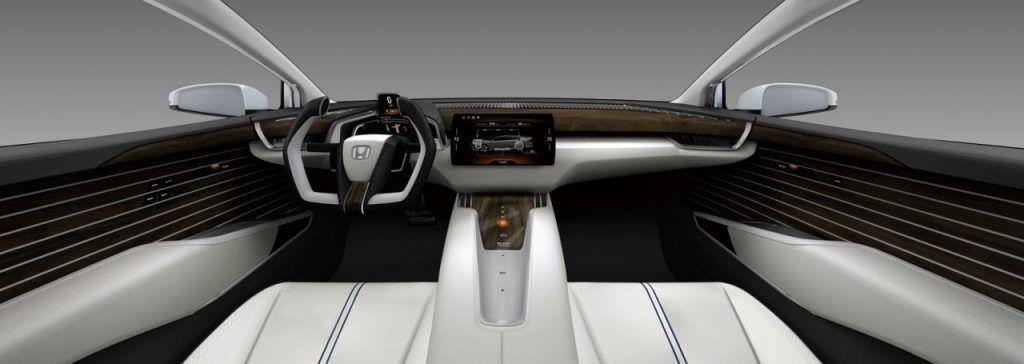 Interni della Honda FCV concept 1024x364