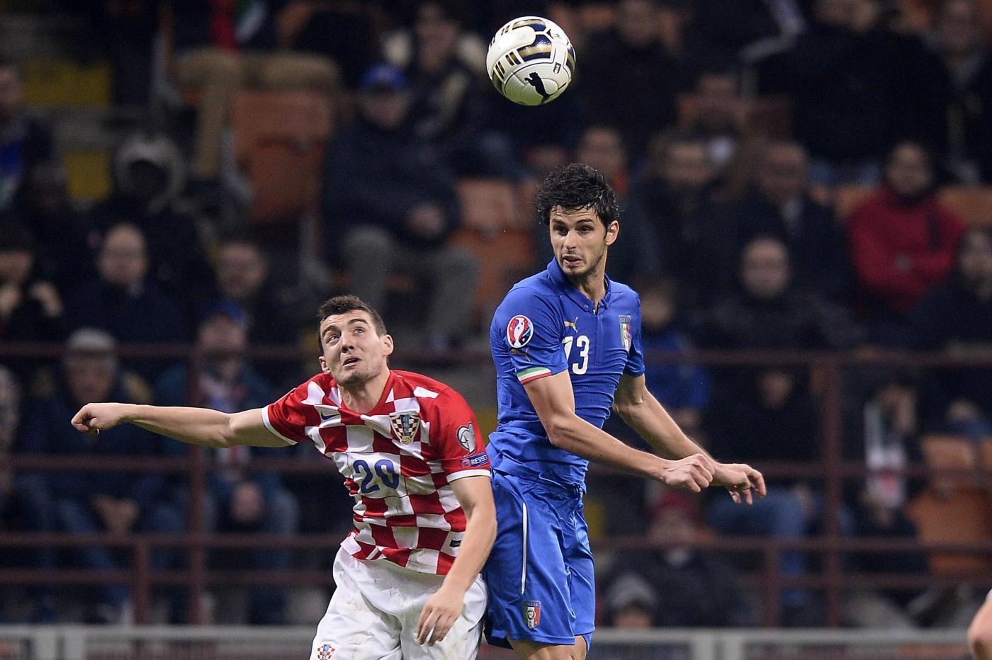 Italia vs Croazia 1-1 tra papere, fumogeni e occasioni sfumate