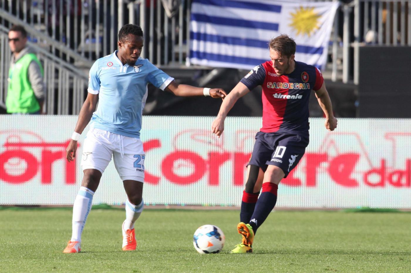 Lazio-Cagliari 4-2: biancocelesti al terzo posto