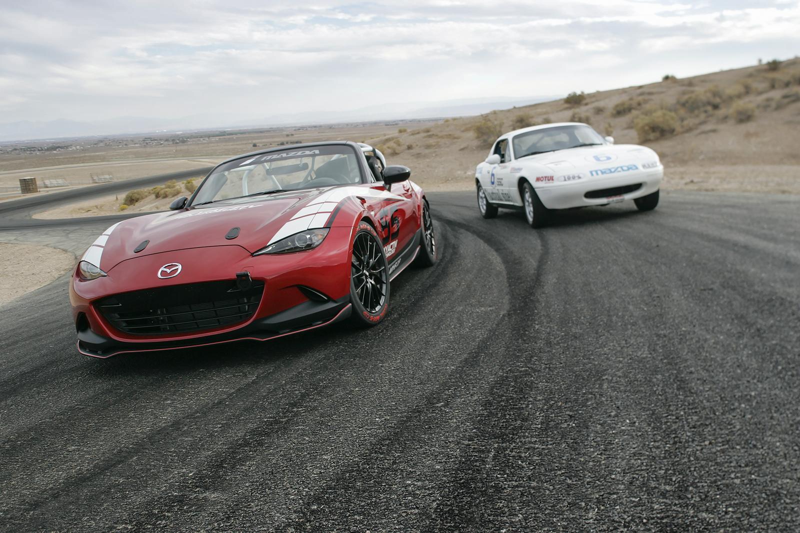 Mazda MX-5: ecco la corsaiola per il campionato monomarca