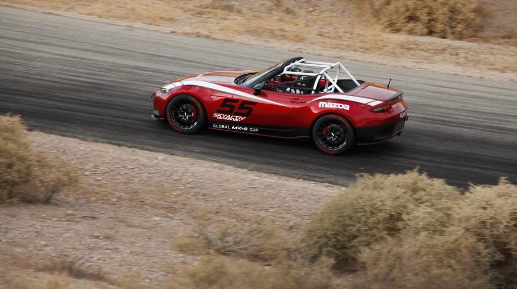 Mazda MX 5 Global Cup Series vista dallalto 1024x572