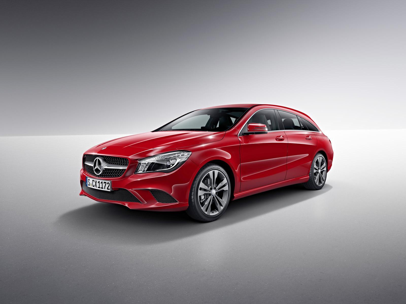 Mercedes CLA e CLA 45 AMG Shooting Brake: motori e dati tecnici