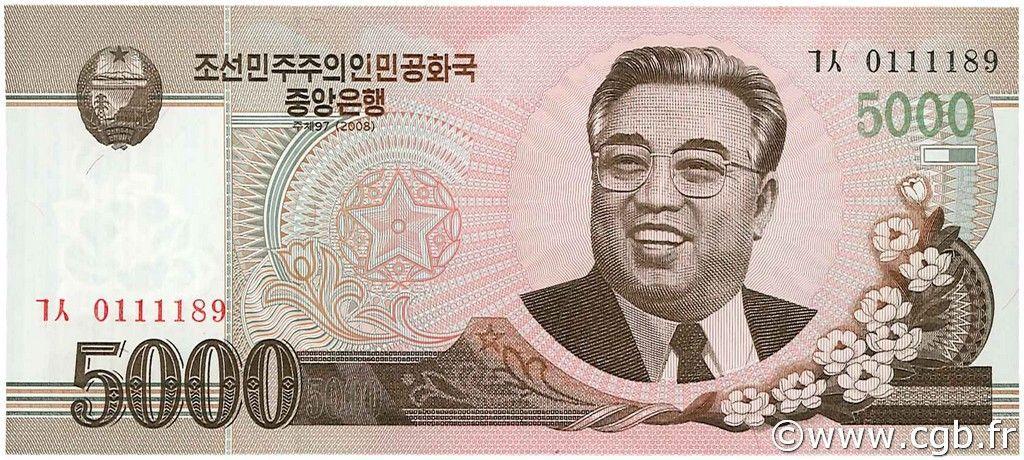 Moneta Corea del Nord