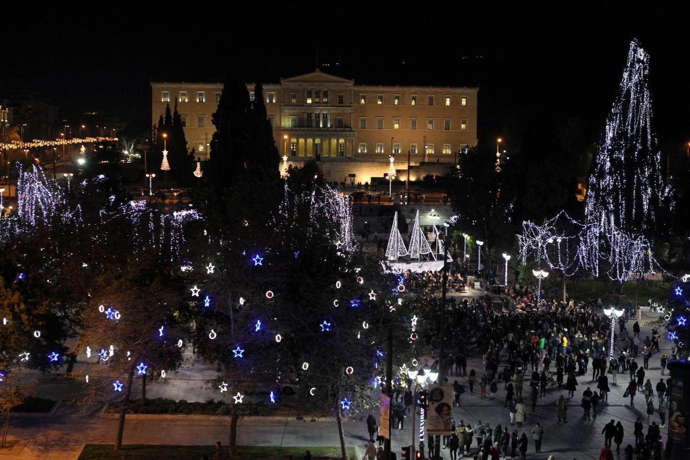 Natale in Grecia