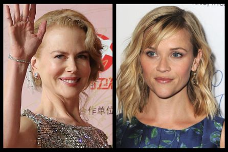 Nicole Kidman e Reese Witherspoon nella miniserie tv Big Little Lies