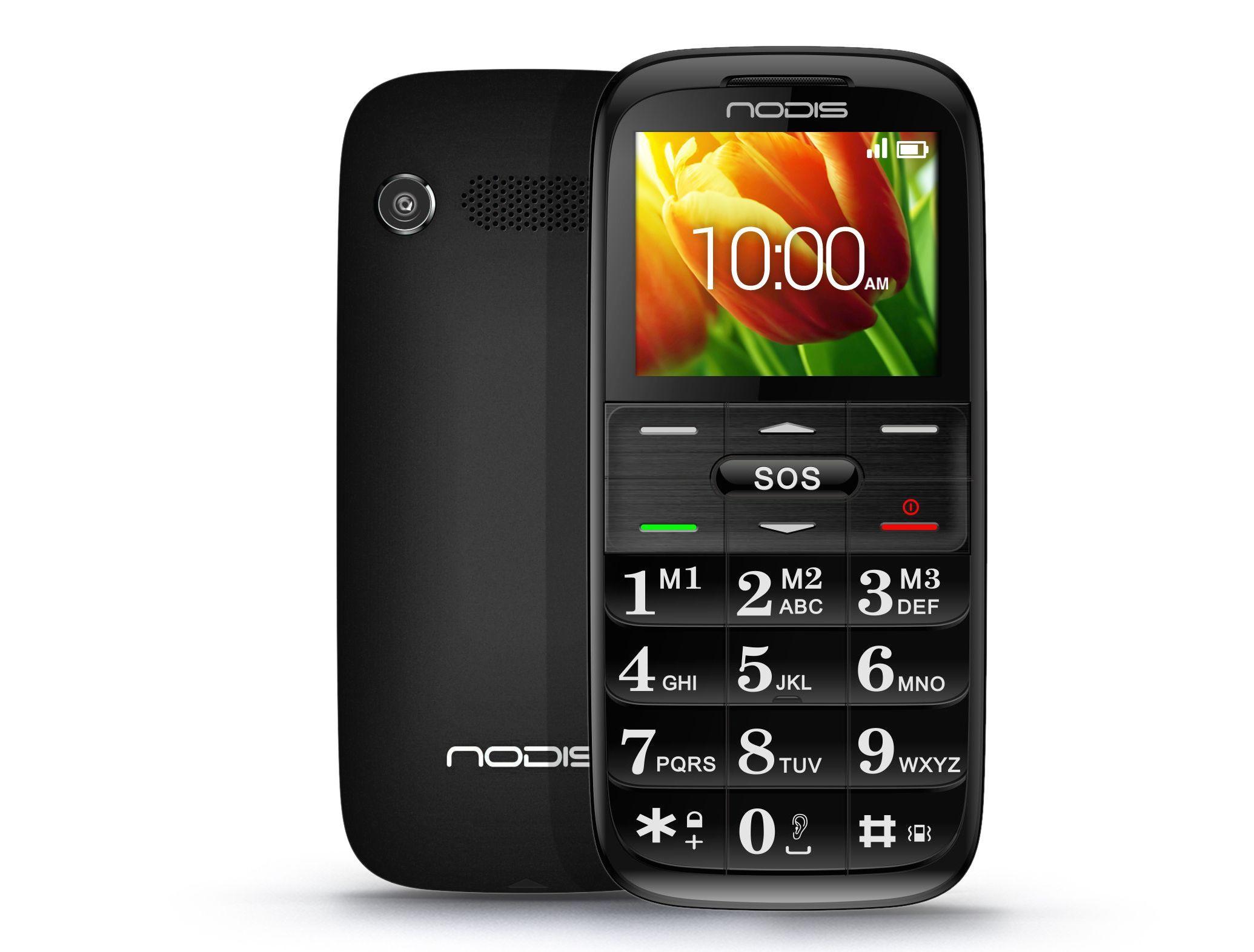 Nodis SN-07 il cellulare per anziani più hitech