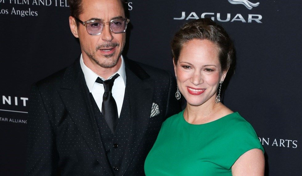 Robert Downey Jr e la moglie Susan
