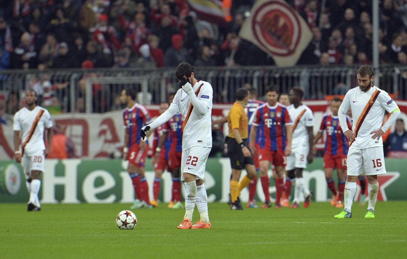 Champions, Bayern vs Roma 2-0: giallorossi sempre secondi nel girone
