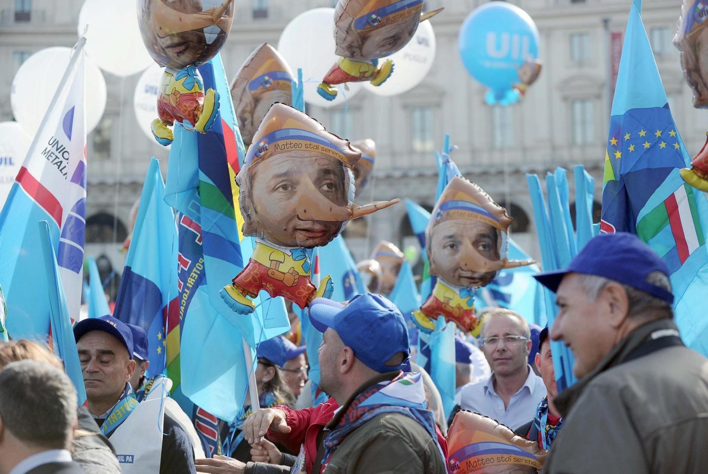 Protesta degli Statali a Roma, Camusso: 'Pronti allo sciopero. Basta promesse da dilettanti'