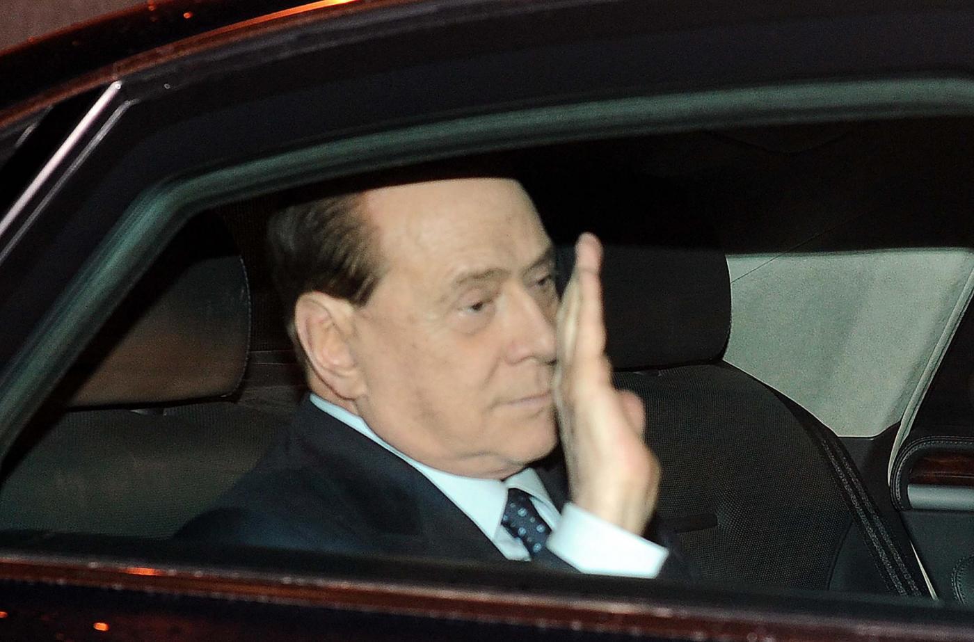 Silvio Berlusconi ricoverato a Milano per l'aggravarsi dell'uveite