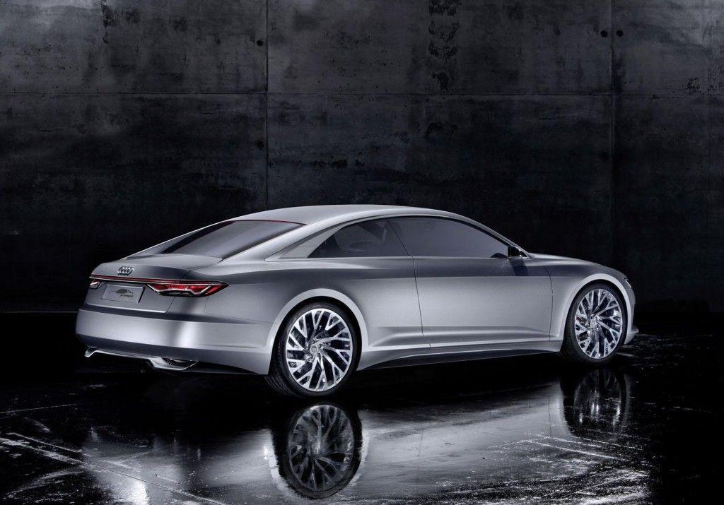 Tre quarti posteriore della Audi Prologue concept 1024x715
