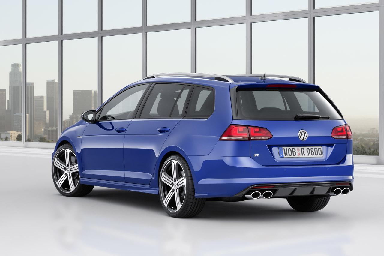 Volkswagen Golf R Variant: la station wagon da 300 CV