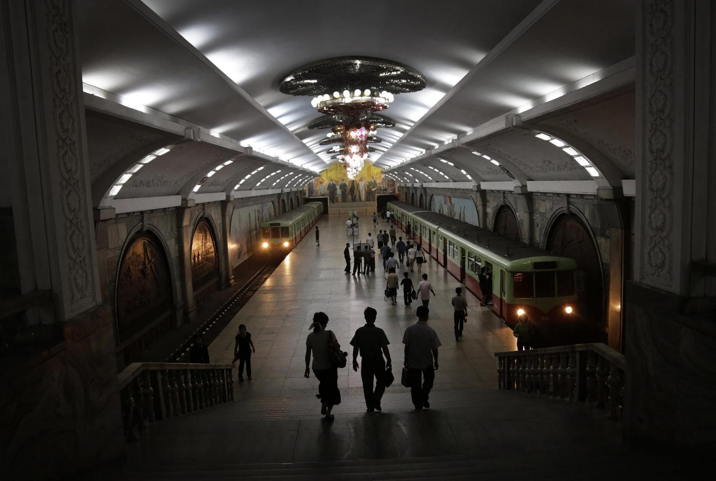 Treni di Kim Jong Un