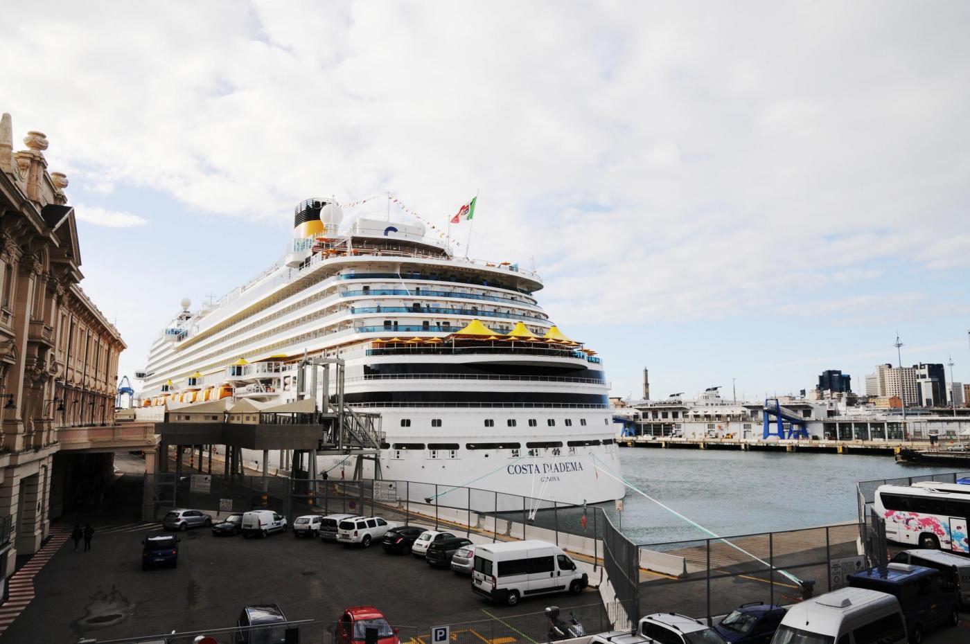 Costa Diadema: inaugurazione a Genova e itinerario