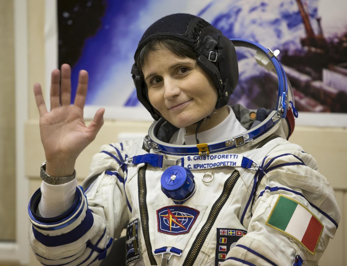 Samantha Cristoforetti è la prima astronauta italiana donna nello spazio