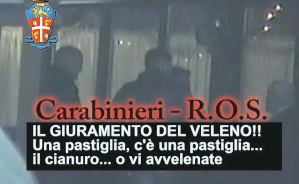 Giuramento della 'ndrangheta, cosa vuol dire il testo?