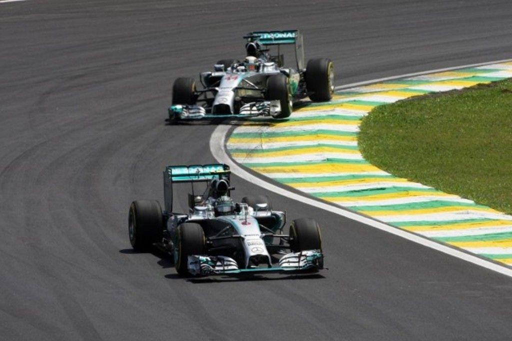 GP Brasile F1 2014, gara: Rosberg batte Hamilton